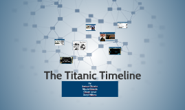 The Titanic Timeline