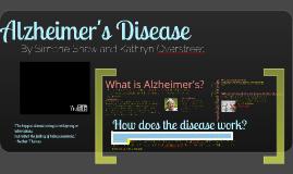 Copy of Alzheimer's Presentation