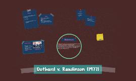 Dothard v. Rawlinson (1977)