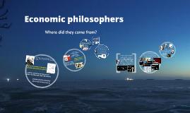 Econ 106 - Econ Philosophers