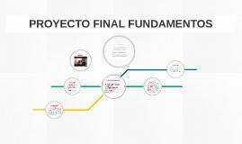 Proyecto Final Fundamentos