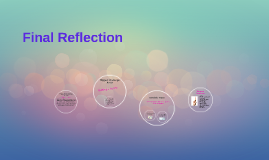 Final Reflection
