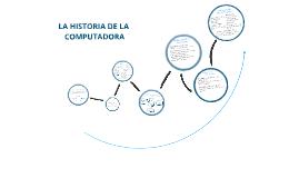 La historia de la computadora