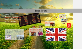 Copy of Britain- The arts