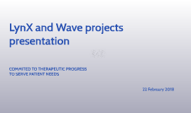 LynX and Wave projects