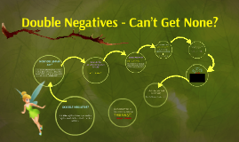 Double Negatives - Can't Get None