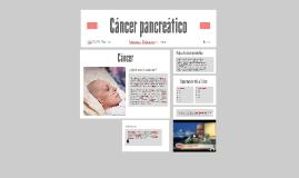 Cáncer pancreático