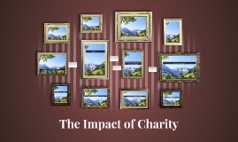 What is the impact of a charity organization?