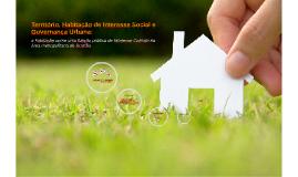 Território, Habitação de Interesse Social e Governança Urban