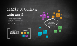 Copy of How do you teach a college learner?