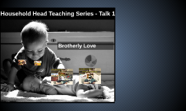 HHT Series 1: Brotherly Love