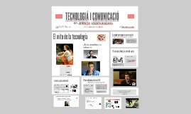 TECNOLOGIA I COMUNICACIÓ  EN ENTORNS SOCIOSANITARIS