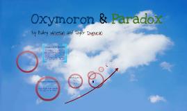 Copy of Oxymoron & Paradox