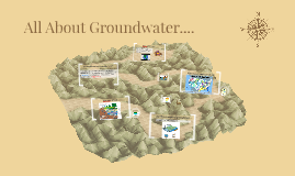 All About Groundwater....