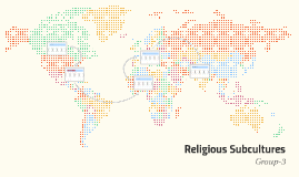 Religious Subcultures and Their Dietary Habits