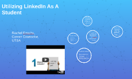 Utilizing LinkedIn as a Student