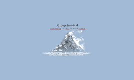 Group Survival