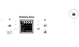 Copy of Historia kina