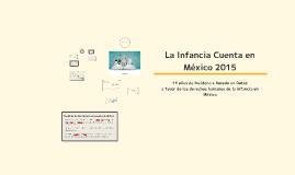 La Infancia Cuenta en México 2015: Sistemas de Protección Municipal
