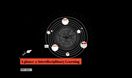 A glance @ Interdisciplinary Learning