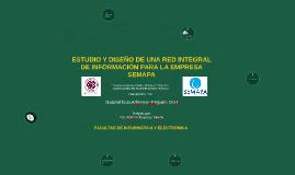 ESTUDIO Y DISEÑO DE UNA RED INTEGRAL DE INFORMACIÓN PARA LA