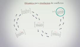 PARTE III Dinamica para resolucion de conflictos