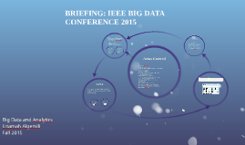 IEEE BIG DATA CONFERENCE 2015