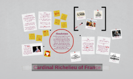 Cardinal Richelieu of France