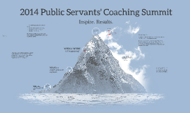 For Leadership / HR - 2014 Coaching Summit