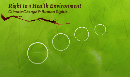Mar 27/30- Right to a Health Environment