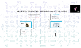 RESILIENCE IN MEXICAN IMMIGRANT WOMEN
