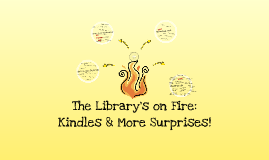 Copy of The Library's on Fire: Kindles & More Surprises