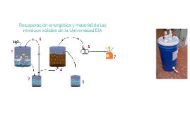 Recuperación energética y material de los residuos sólidos d