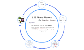 6.05 Plants Honors