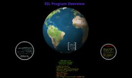 ESL Program Overview