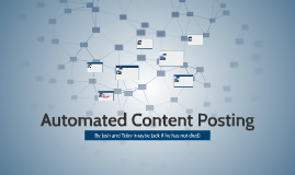 Automated Content Posting