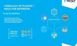 HIDRÁULICA DE FLUIDOS Y RIEGO POR ASPERSIÓN.