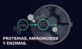 PROTEINAS,AMINOACIDOS Y ENZIMAS.