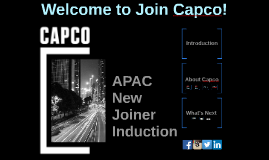 Copy of Feb 2015: APAC New Joiner Induction