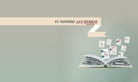 EL HOMBRE ANUMERICO