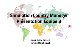 Simulation Country Manager
