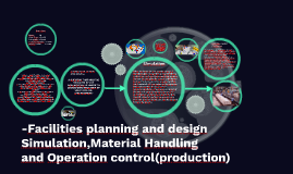 -Facilities planning and design