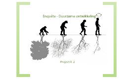 Project II.2 - Enquête