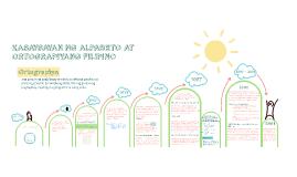 KASAYSAYAN NG ALPABETO AT ORTOGRAPIYANG FILIPINO