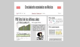 Crecimiento económico en México