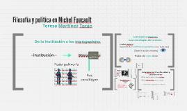 Filosofía y política en Michel Foucault
