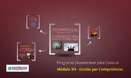 Módulo XII - Gestão por Competências