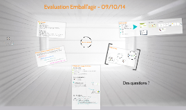 Copy of Evaluation Emball'agir - 09/10/14