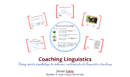 Coaching Linguistics