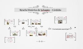 Reseña histórica de Sahagún - Córdoba